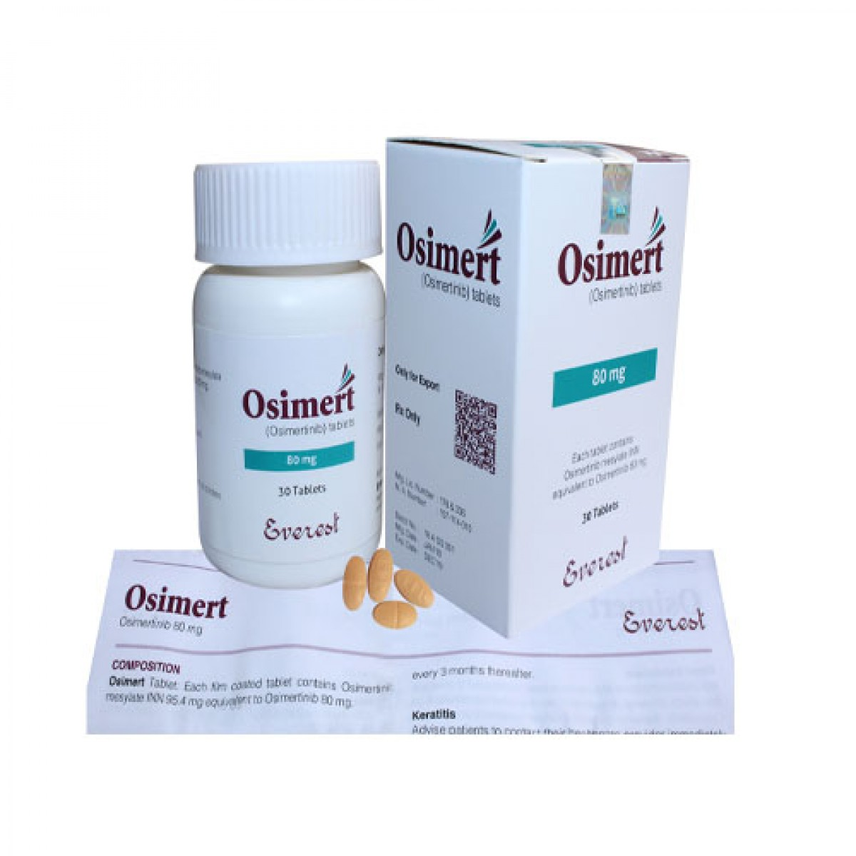 Osimertinib  Osimert( Everest ) 奥希替尼 奥西替尼