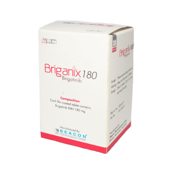 Brigatinib  Briganix  180mg (Beacon) 布加替尼 180mg