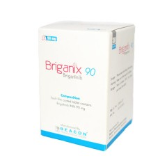 Brigatinib   Briganix  90mg  (Beacon) 布加替尼 90mg